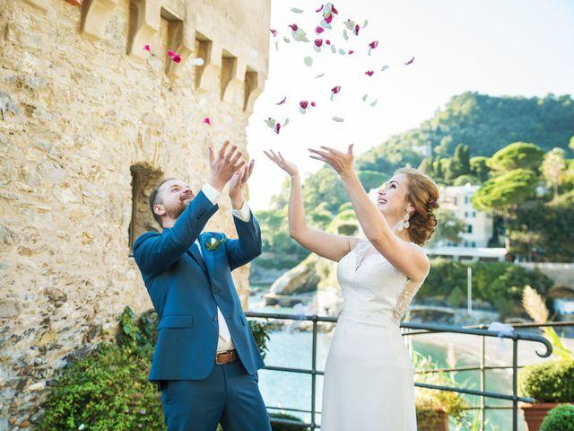Il matrimonio di Andrea e Elena a Zoagli, Genova 41