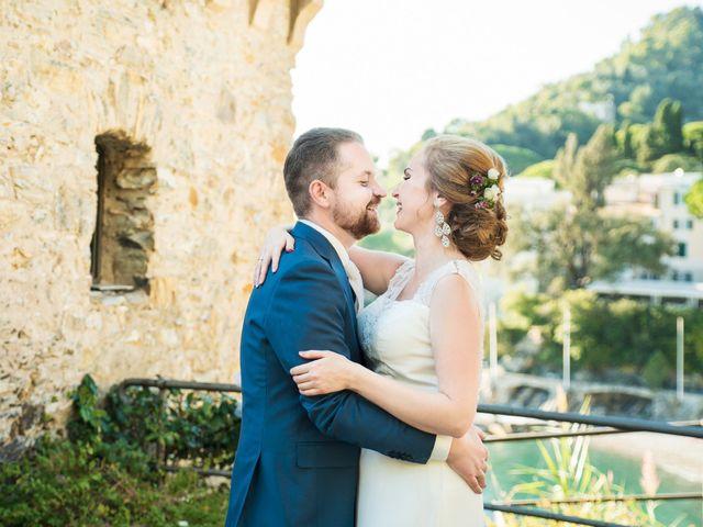 Il matrimonio di Andrea e Elena a Zoagli, Genova 43