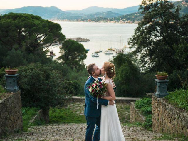 Il matrimonio di Andrea e Elena a Zoagli, Genova 61