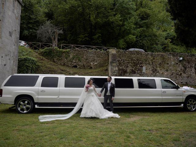 Il matrimonio di Giada e Leo a Serramonacesca, Pescara 8
