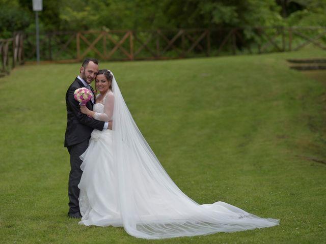 Il matrimonio di Giada e Leo a Serramonacesca, Pescara 15