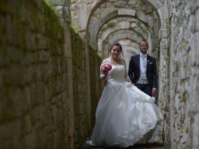 Il matrimonio di Giada e Leo a Serramonacesca, Pescara 16