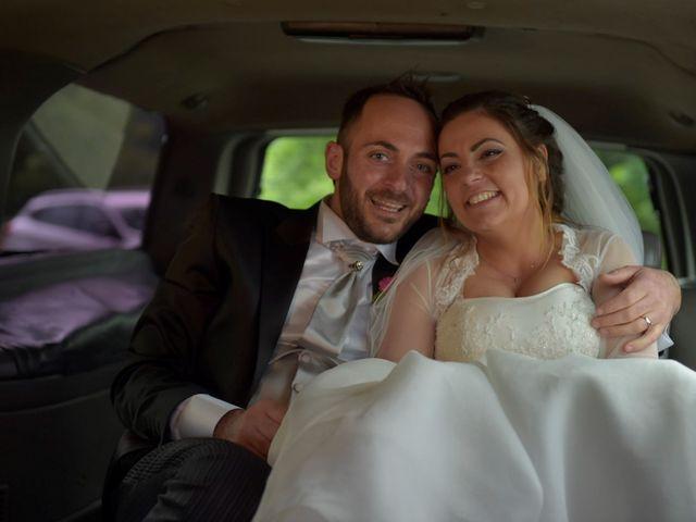 Il matrimonio di Giada e Leo a Serramonacesca, Pescara 18