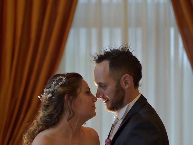 Il matrimonio di Giada e Leo a Serramonacesca, Pescara 19