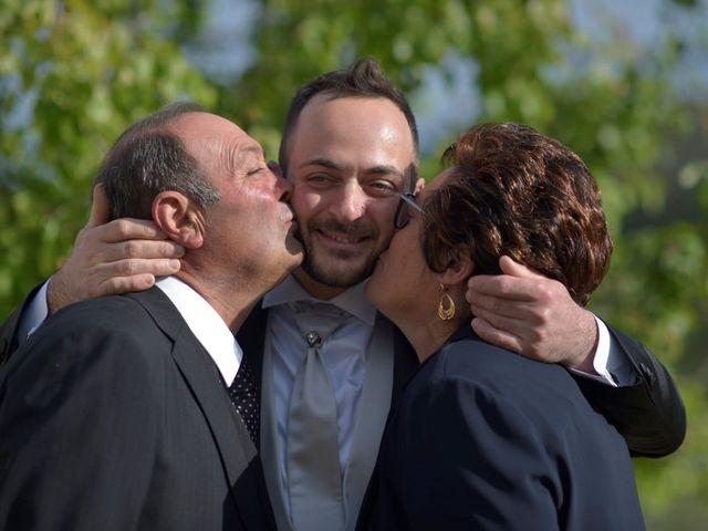 Il matrimonio di Giada e Leo a Serramonacesca, Pescara 20