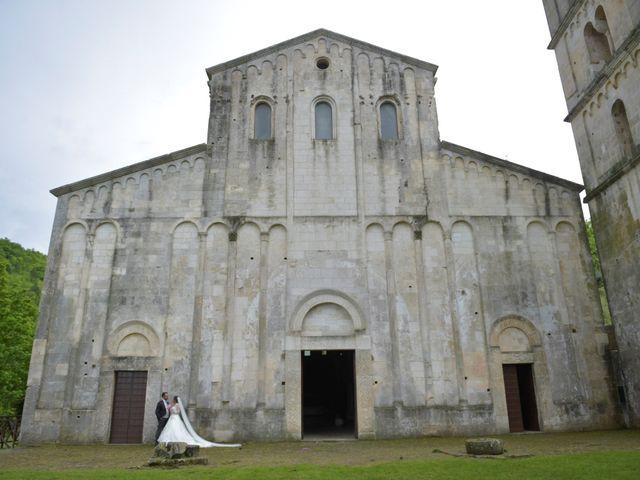 Il matrimonio di Giada e Leo a Serramonacesca, Pescara 21