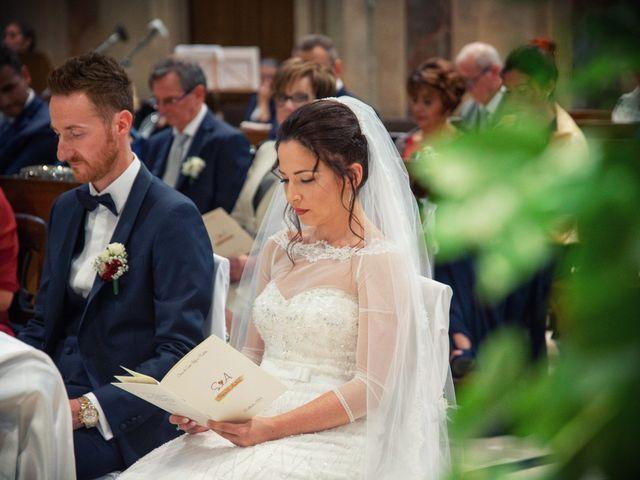 Il matrimonio di Andrea e Simona a Vergiate, Varese 24