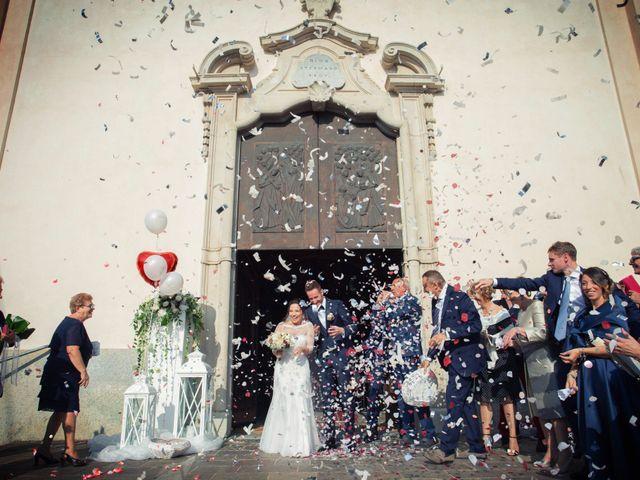 Il matrimonio di Andrea e Simona a Vergiate, Varese 30