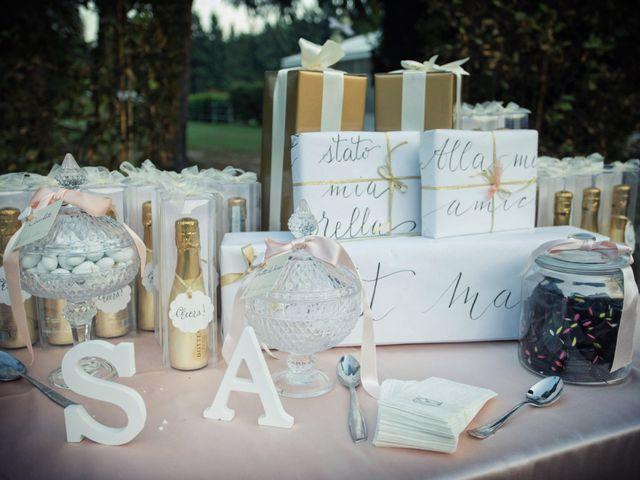 Il matrimonio di Andrea e Simona a Vergiate, Varese 37