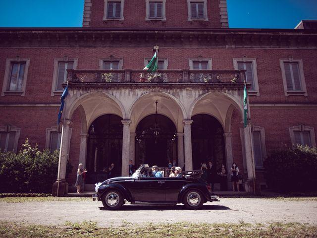 Il matrimonio di Davide e Francesca a Montevecchia, Lecco 12