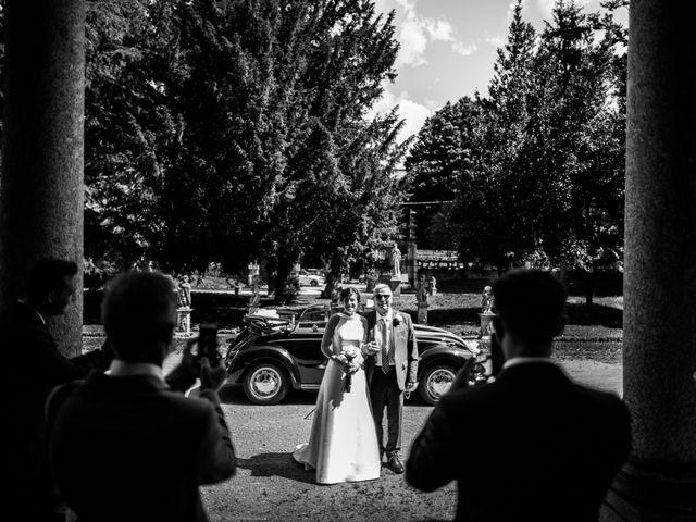 Il matrimonio di Davide e Francesca a Montevecchia, Lecco 13
