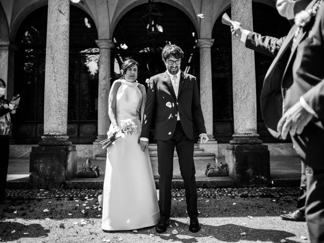Il matrimonio di Davide e Francesca a Montevecchia, Lecco 15