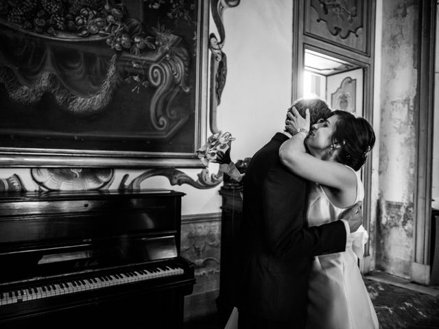 Il matrimonio di Davide e Francesca a Montevecchia, Lecco 16