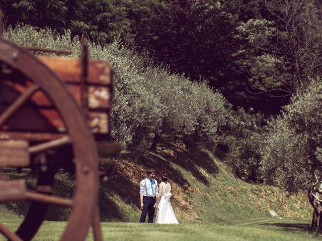 Il matrimonio di Davide e Francesca a Montevecchia, Lecco 22
