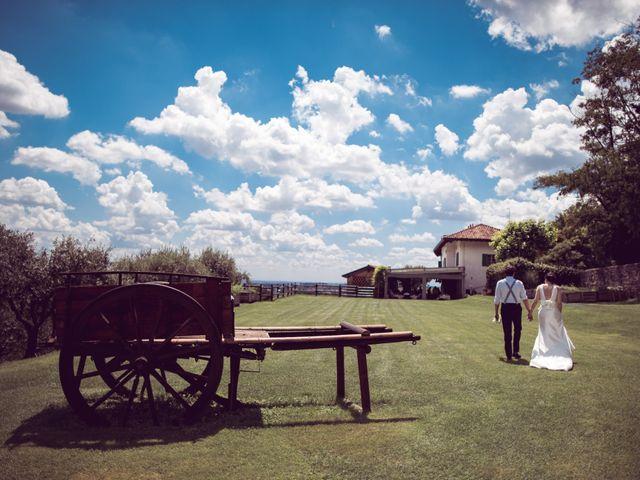 Il matrimonio di Davide e Francesca a Montevecchia, Lecco 23