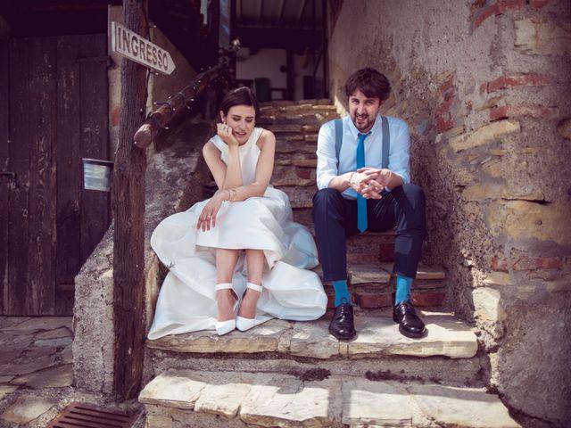 Il matrimonio di Davide e Francesca a Montevecchia, Lecco 26