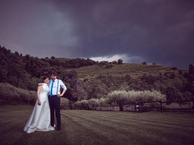 Il matrimonio di Davide e Francesca a Montevecchia, Lecco 27