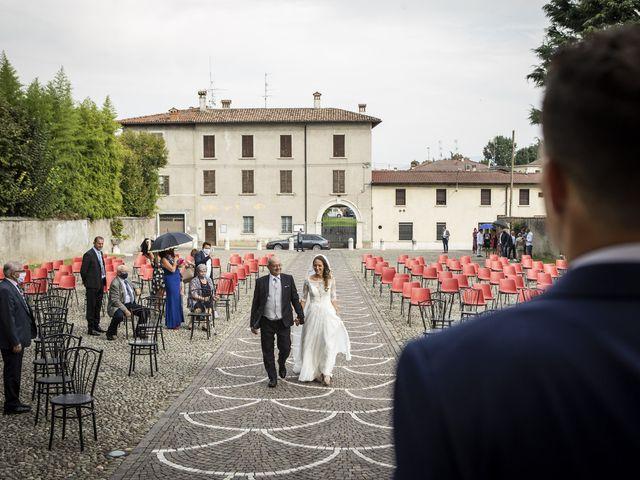 Il matrimonio di Andrea e Francesca a Paderno Franciacorta, Brescia 20