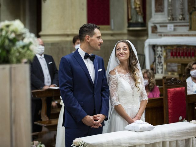 Il matrimonio di Andrea e Francesca a Paderno Franciacorta, Brescia 32