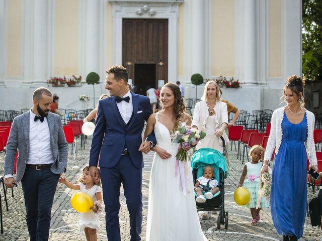 Il matrimonio di Andrea e Francesca a Paderno Franciacorta, Brescia 37