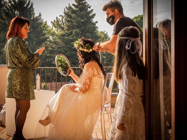 Il matrimonio di Giuseppe e Francesca a Legnano, Milano 15