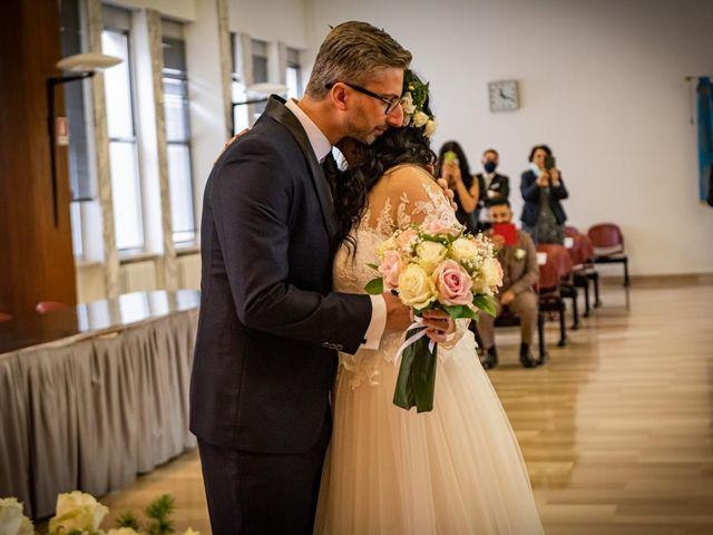 Il matrimonio di Giuseppe e Francesca a Legnano, Milano 30