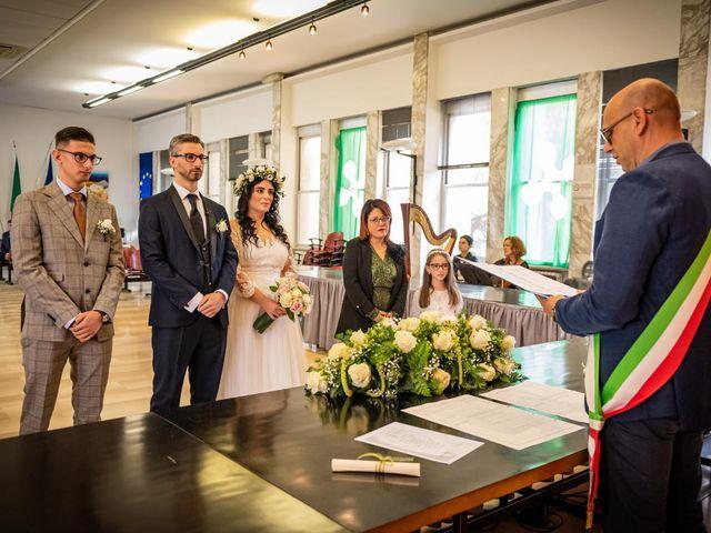 Il matrimonio di Giuseppe e Francesca a Legnano, Milano 31