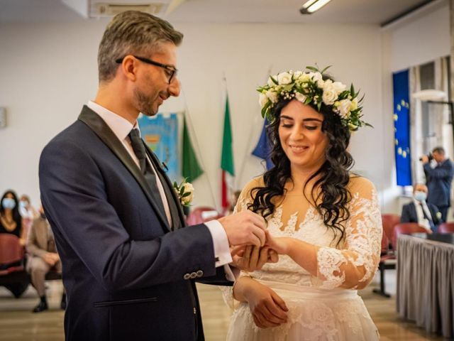 Il matrimonio di Giuseppe e Francesca a Legnano, Milano 32