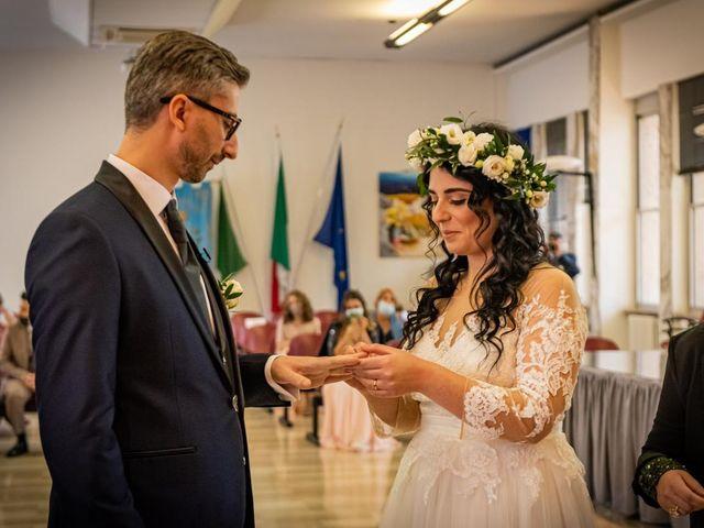Il matrimonio di Giuseppe e Francesca a Legnano, Milano 33