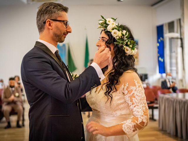 Il matrimonio di Giuseppe e Francesca a Legnano, Milano 34