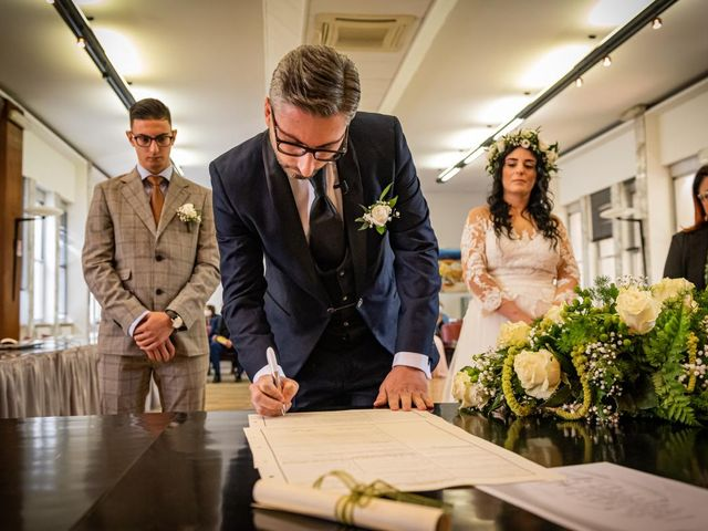 Il matrimonio di Giuseppe e Francesca a Legnano, Milano 36