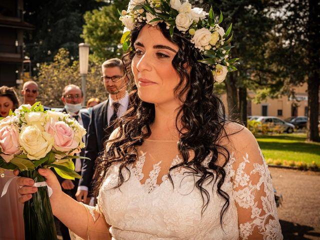 Il matrimonio di Giuseppe e Francesca a Legnano, Milano 42