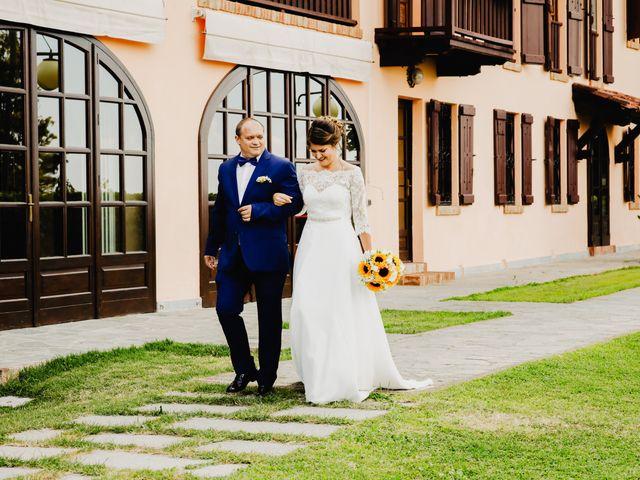 Il matrimonio di Fabio e Roxana a Cocconato, Asti 23