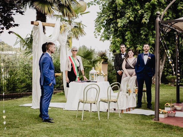 Il matrimonio di Fabio e Roxana a Cocconato, Asti 24
