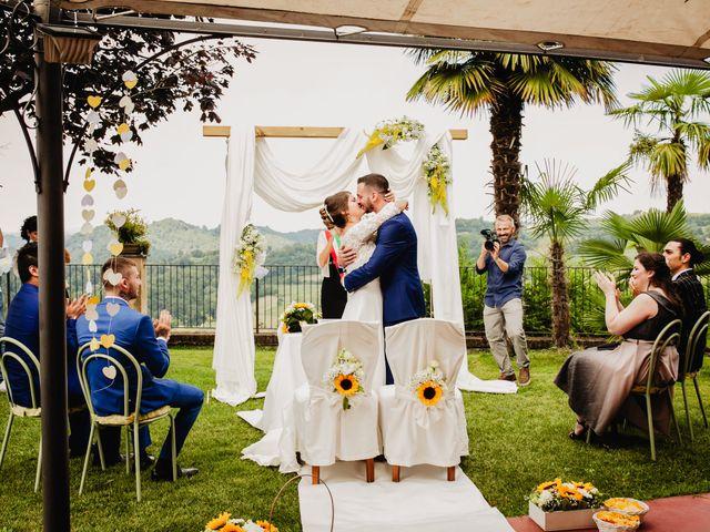Il matrimonio di Fabio e Roxana a Cocconato, Asti 28