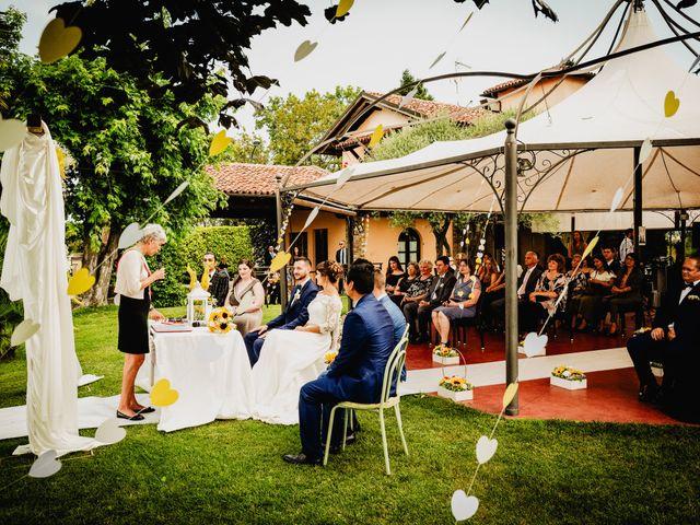 Il matrimonio di Fabio e Roxana a Cocconato, Asti 31