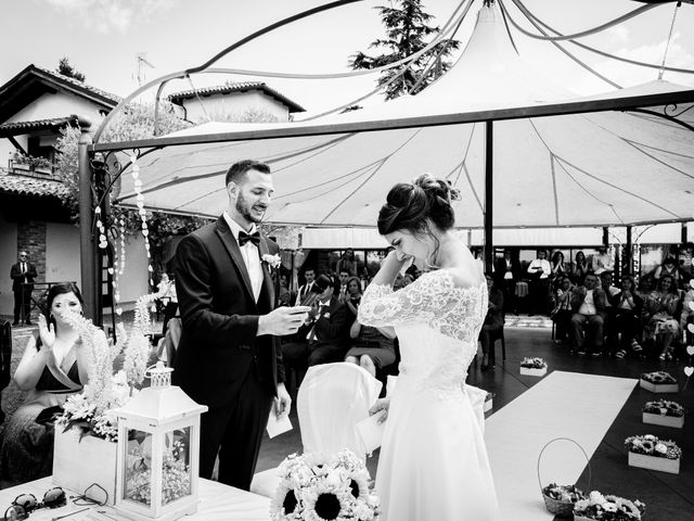 Il matrimonio di Fabio e Roxana a Cocconato, Asti 32