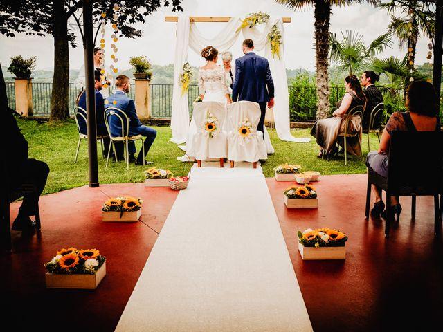 Il matrimonio di Fabio e Roxana a Cocconato, Asti 35