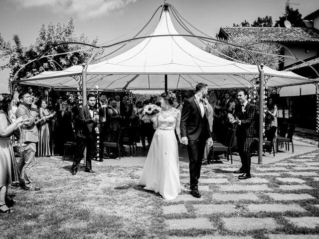 Il matrimonio di Fabio e Roxana a Cocconato, Asti 36