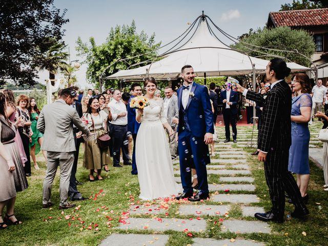 Il matrimonio di Fabio e Roxana a Cocconato, Asti 37