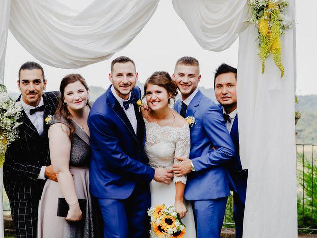 Il matrimonio di Fabio e Roxana a Cocconato, Asti 42