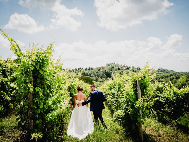Il matrimonio di Fabio e Roxana a Cocconato, Asti 45