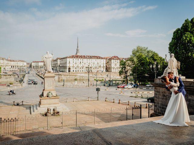 Il matrimonio di Fabio e Roxana a Cocconato, Asti 60