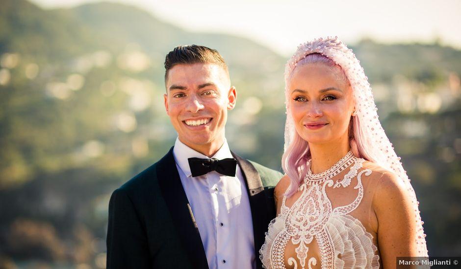 Il matrimonio di Eric e Jessie a Ischia, Napoli