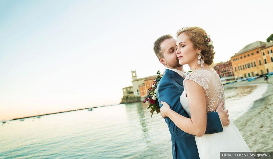 Il matrimonio di Andrea e Elena a Zoagli, Genova