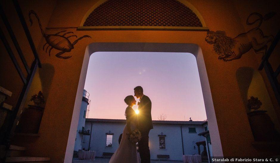 Il matrimonio di Andrea e Simona a Vergiate, Varese