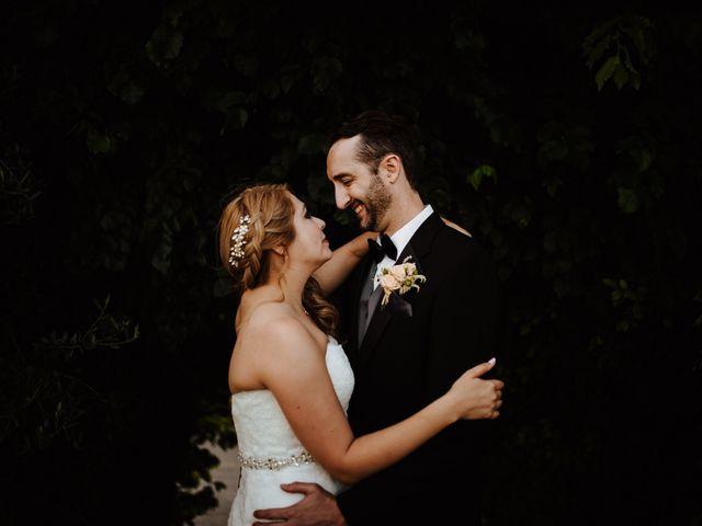 Le nozze di Michelle e Steven