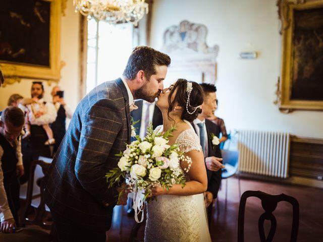 Il matrimonio di James e Carol a Arezzo, Arezzo 56