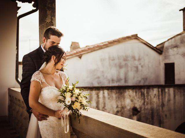 Il matrimonio di James e Carol a Arezzo, Arezzo 62