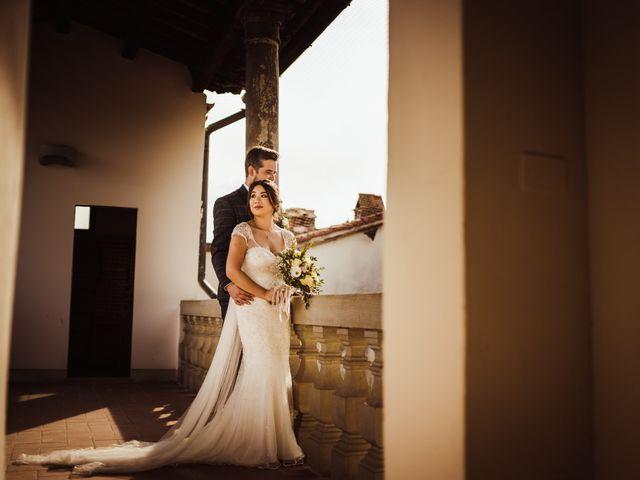 Il matrimonio di James e Carol a Arezzo, Arezzo 63